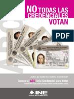 ABC Credenciales INE 2014