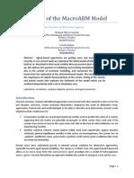 Replication of Macro ABM Model