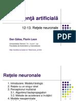 Inteligenta Artificial a Retele Neuronale