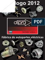 catalogo de repuestos electricos dipra