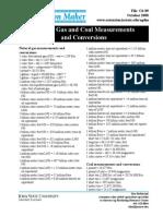 Basic Conversion Sheet