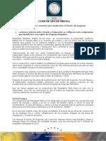 29-01-2014 El Gobernador Guillermo Padrés en compañía del Coordinador General de Puertos y Marina Mercante, Guillermo Ruiz de Teresa, firmaron convenio para modernizar el puerto de Guaymas. B0114121