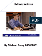 Michael Burry's Approach to Investing