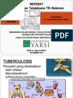 Referat - TB Abdomen