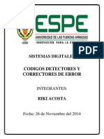 Sistemas Digitales Codigos Error