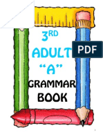 Grammar Book for 3rd A