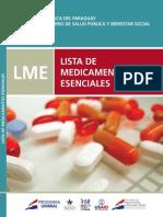 List a de Medicament Os Esencia Les