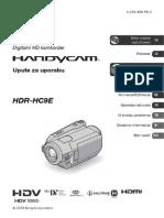 HDR HC9E Uputstva