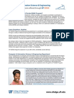 Brochure-computer Information Science Engineering Degree Summary