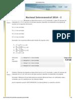 INTERSEMESTRAL ecuaciones diferenciales