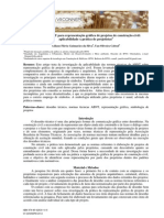 Metodo de representação de projeto segundo ABNT