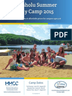Mosholu Camp Brochure 2015