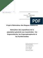 Insecticides organochlorées