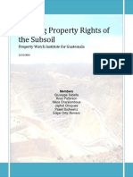 Defining Property Rights of the Subsoil PDF