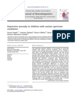 Expressive Prosody in Children With Autism Spectrum Conditions