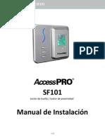 SF101 Manual de Instalación