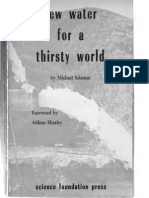 New Water for a Thirsty World