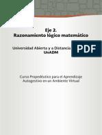 Eje 2 . Razonamiento Logico Matematico