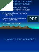 Apo.common Violation..Ra3019,1379,Rpc.plunder