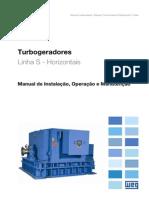 WEG Turbogerador 10061221 Manual Portugues Br