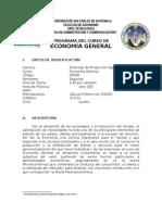 Programa Economía General 2014