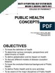 Lesson 1 - Public Health Concepts