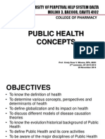Lesson 1 - Public Health Concepts