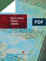 Guia de Los Archivos Militares Españoles