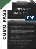 7.500 Questões Concursos Jurídicos