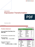 Expression Transformation