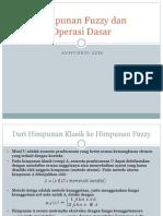 Himpunan Fuzzy Dan Operasi Dasar (Versi 2)
