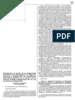 Decreto Supremo 227 2013 Ef