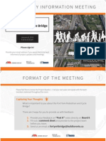 Fort York Bridge-Display Boards for Jan 8 Meeting
