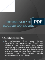 As Desigualdades Sociais No Brasil