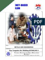 Gas Tungsten Arc Welding NC II 1 TESDA