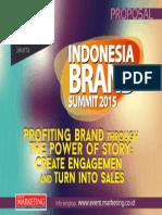 Sponsorship Indonesia Brand Summit 2015