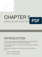 Facilities and design CHAPTER 5