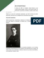 Pequeña de Biografía de Rudolf Steiner