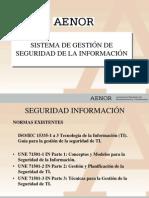 Presentación SGSI