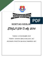 Kertas Kerja English Day 2014