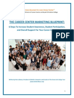 The Career Center Marketing Blueprint by Pete Leibman