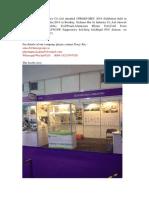 Sichuan Hui Li Industry Co Present on CPHI India Expo