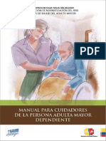 Manual Para Cuidadores de La Persona Adulta Mayor