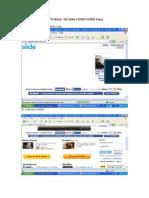 Tutorial Como subir fotos a la Web Slide