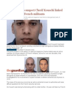 Charlie Hebdo Suspect Cherif Kouachi Linked to Network of French Militants