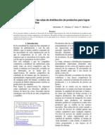 Modelo para mejorar las rutas de distribución de productos para lograr una ventaja competitiva