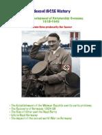 A3 Development of Dictatorship Germany 1918-1945