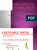 Countable and Uncountable NounsCOUNTABLE AND UNCOUNTABLE NOUNS.ppt