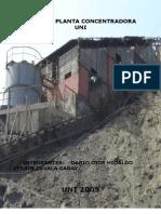 Informe Planta Concentradora Uni