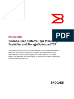 Brocade Open Systems Tape Pipelining